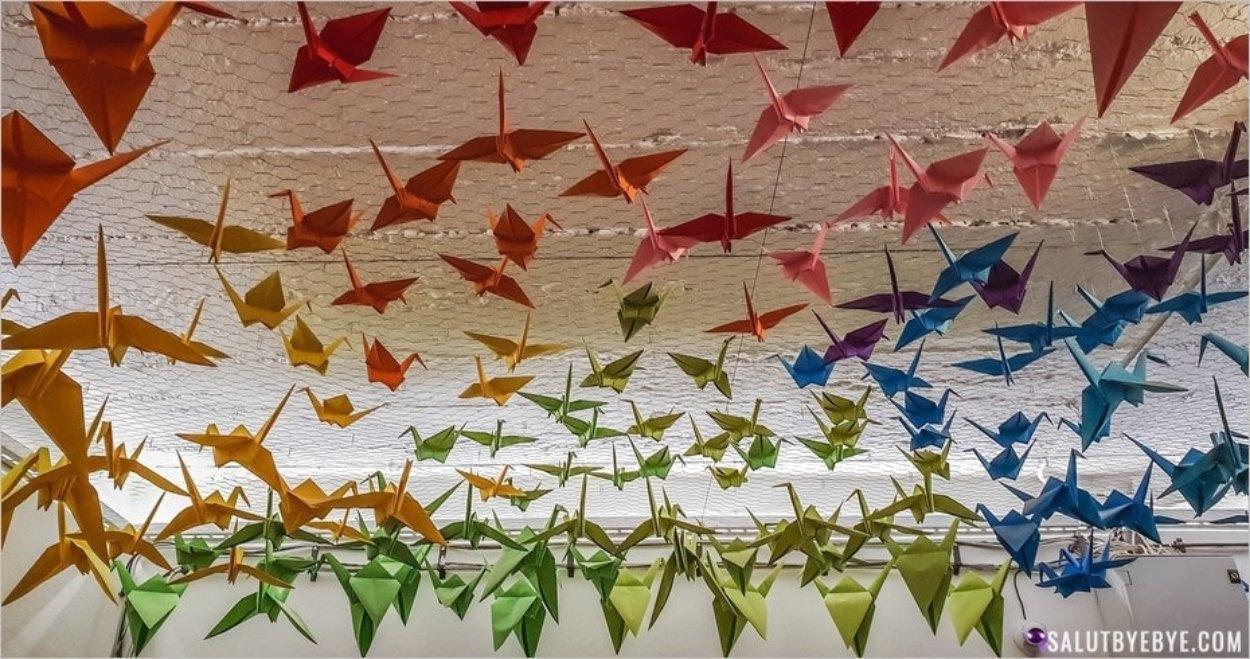 Oiseaux en origami