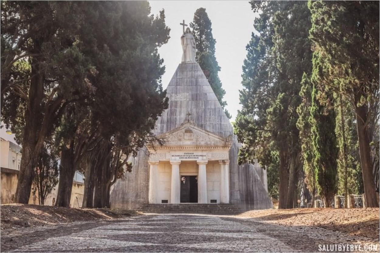 Le mausolée du duc de Palmela - Cimetière Dos Prazeres, Lisbonne