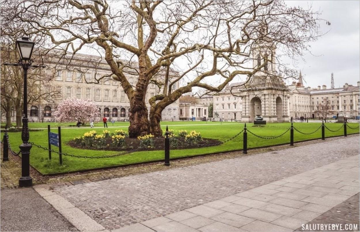 Parliament Square et son campanile - Trinity College, Dublin