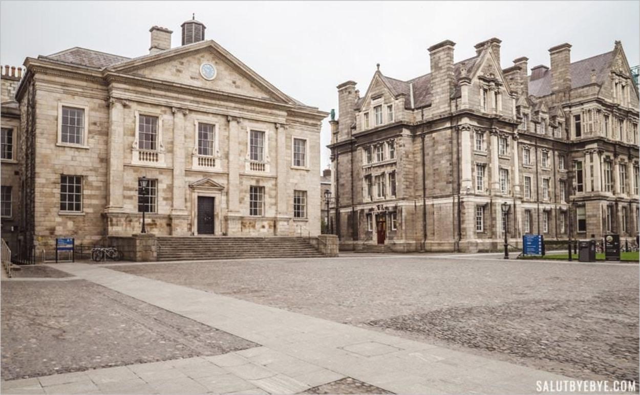 Salle à manger du Trinity College - Dublin, Irlande