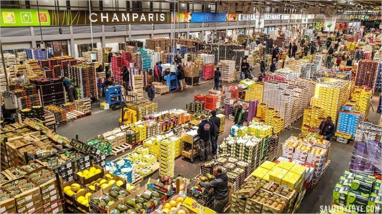 Visite du marché de Rungis en tant que particulier