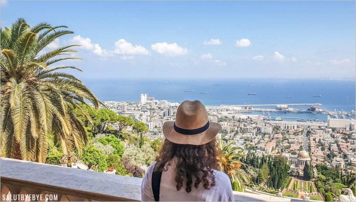 Voyage en Israël - Face à la mer à Haïfa