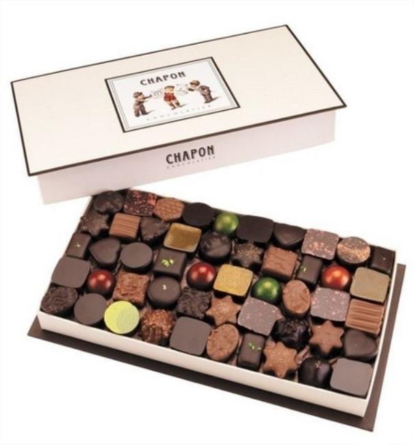 Coffret de la chocolaterie Chapon