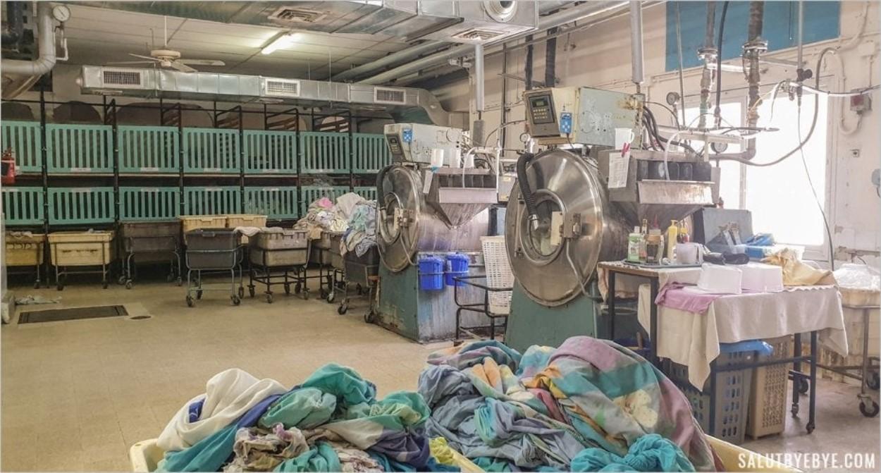 La laverie du kibboutz Ma'agan Michael