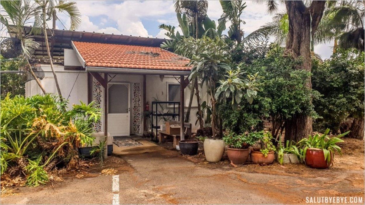 Une maisonnette dans le kibboutz Ma'agan Michael