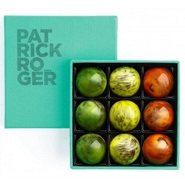 Les demi-sphères de Patrick Roger