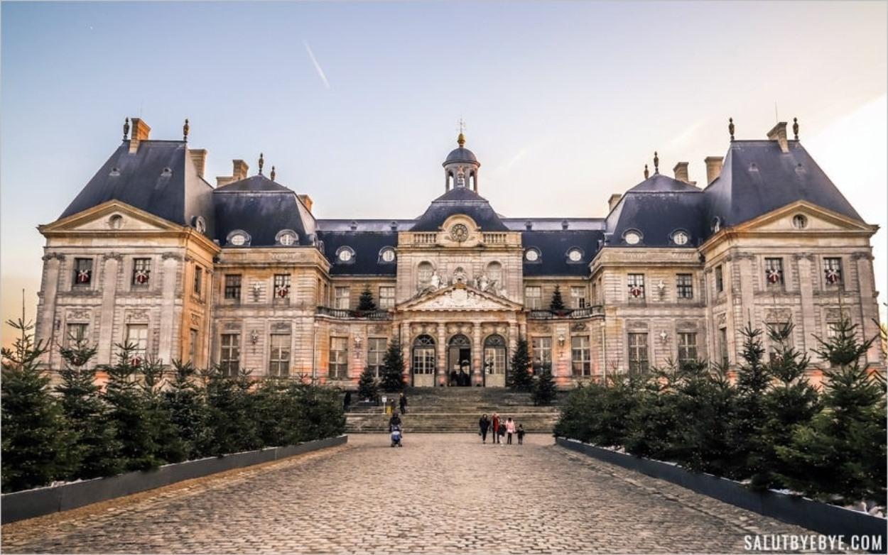 Château de Vaux-le-Vicomte à Noël