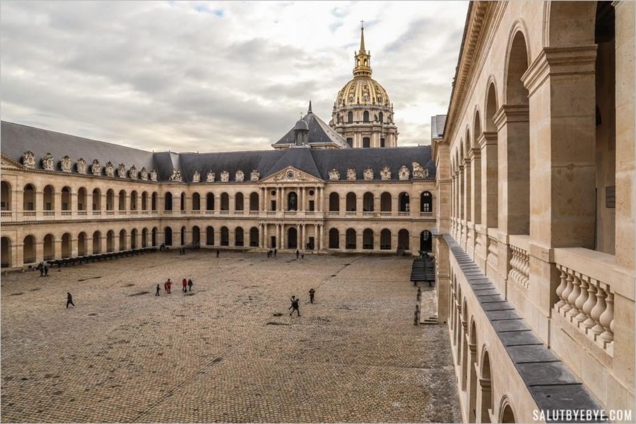 L'Hôtel des Invalides et ses secrets : visite en images