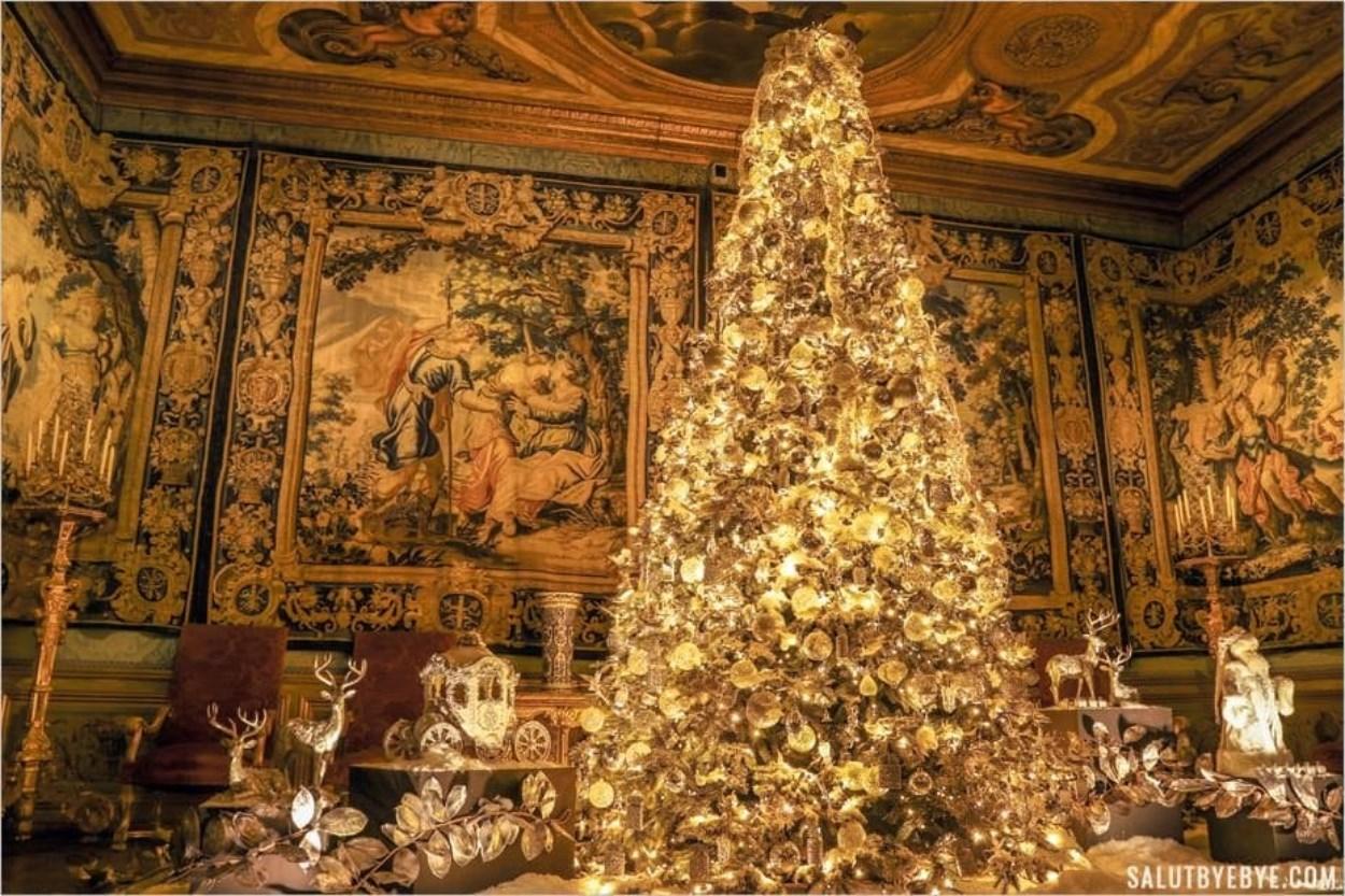 Vaux-le-Vicomte à Noël