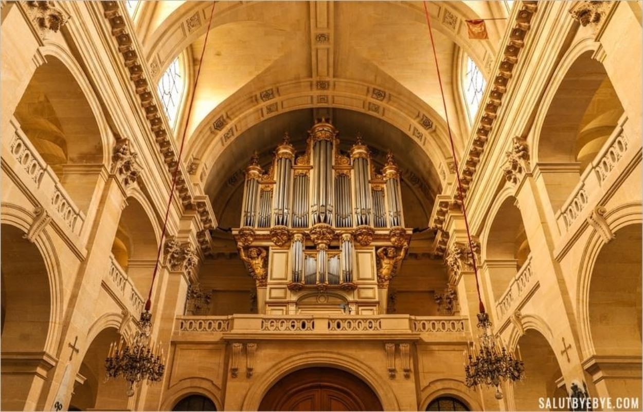 L'orgue de l'église des Invalides