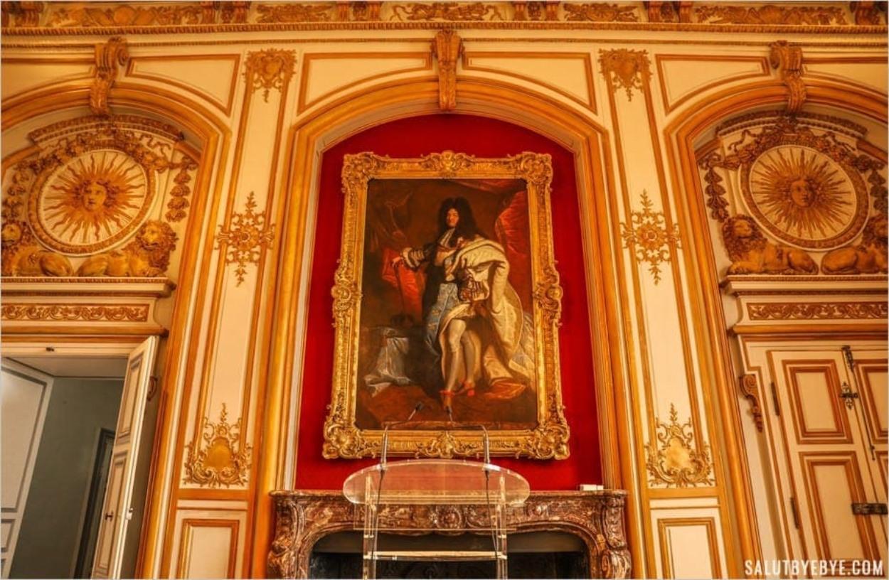 Portrait de Louis XIV par Hyacinthe Rigaud