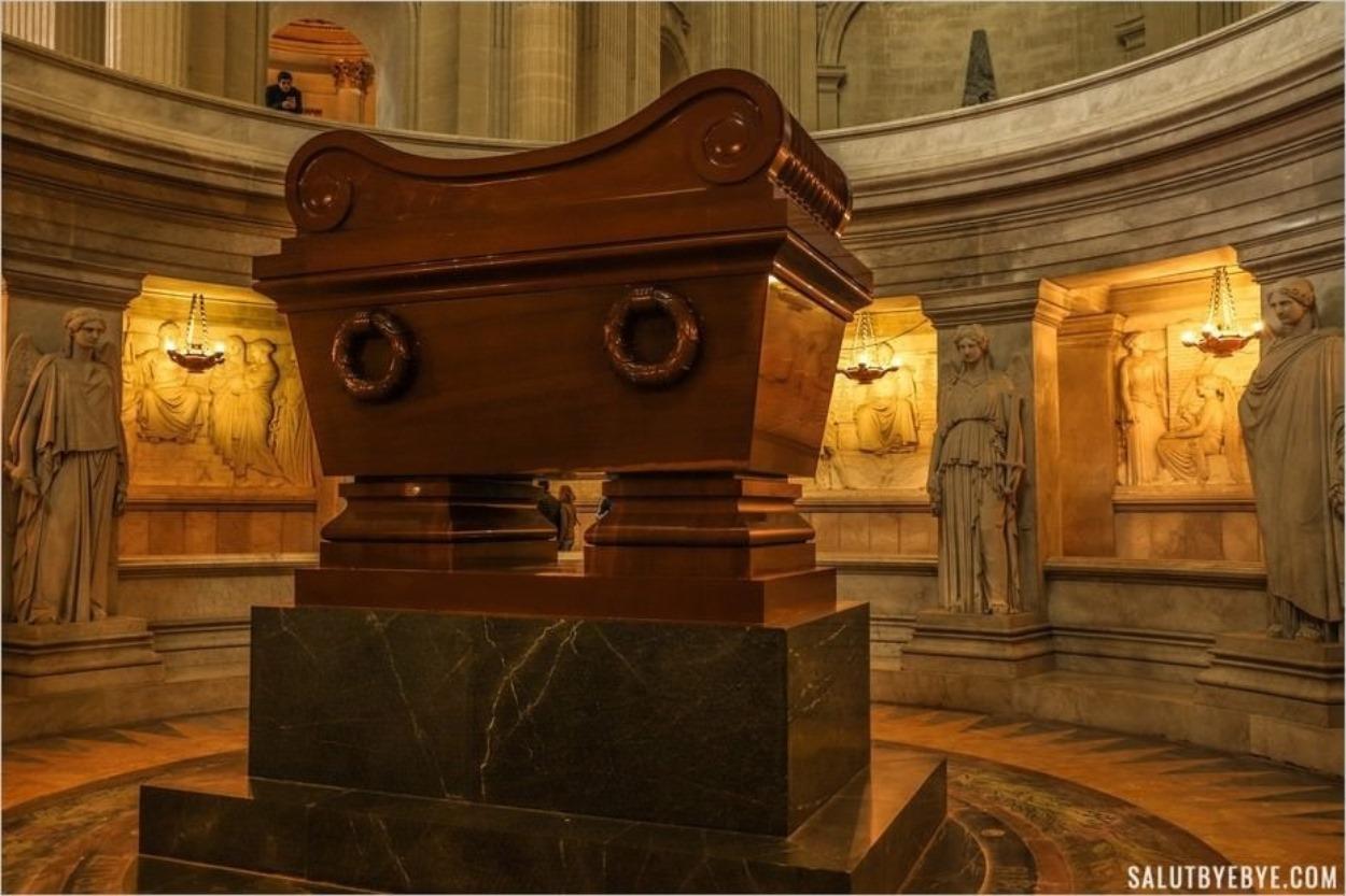 Le tombeau de Napoléon aux Invalides
