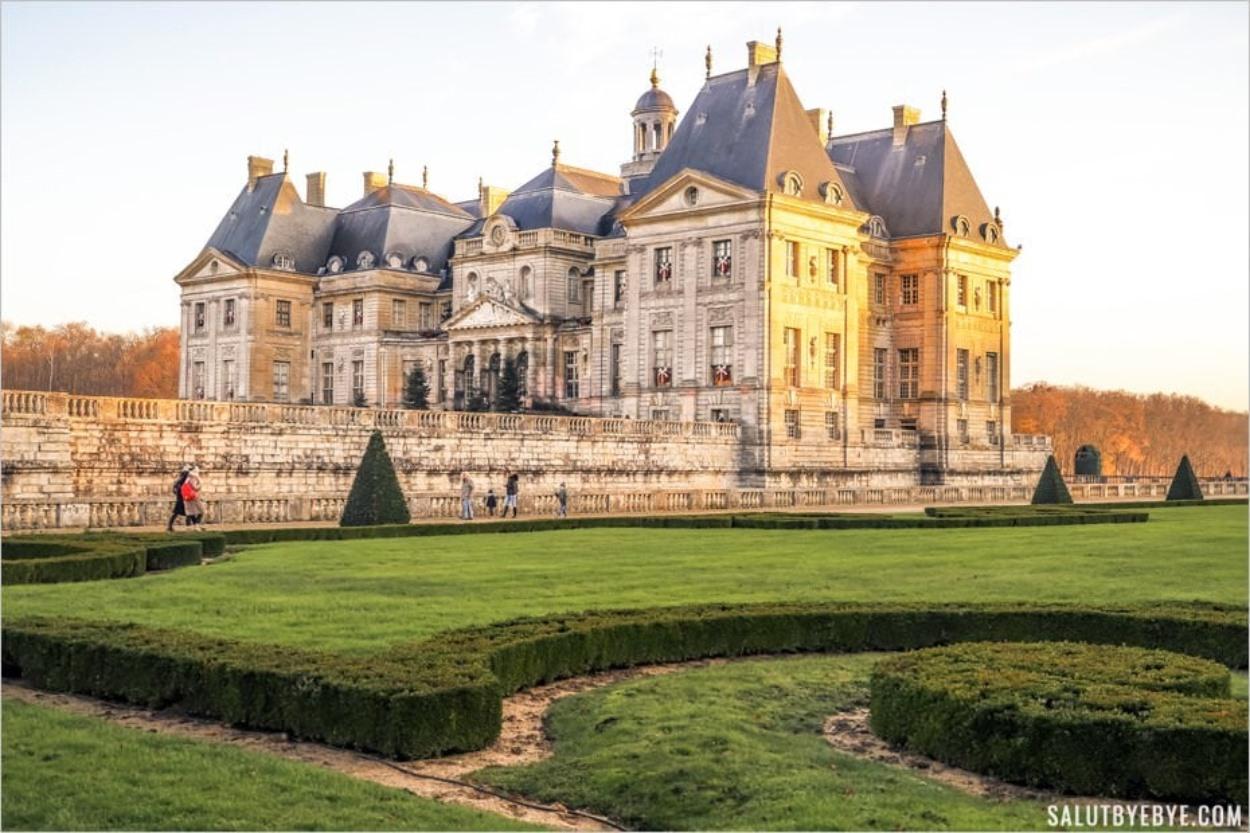 Château de Vaux-le-Vicomte en décembre
