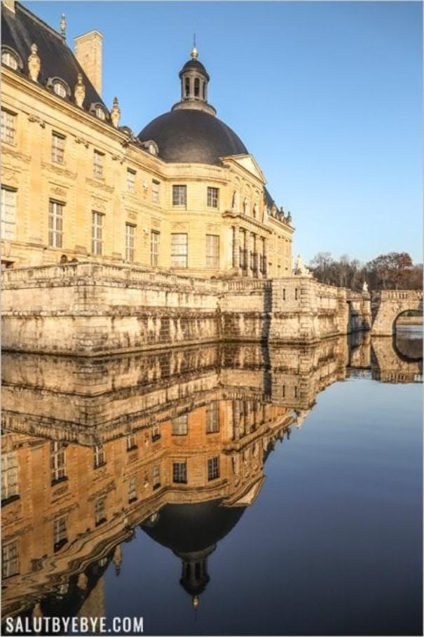 Vaux-le-Vicomte en hiver