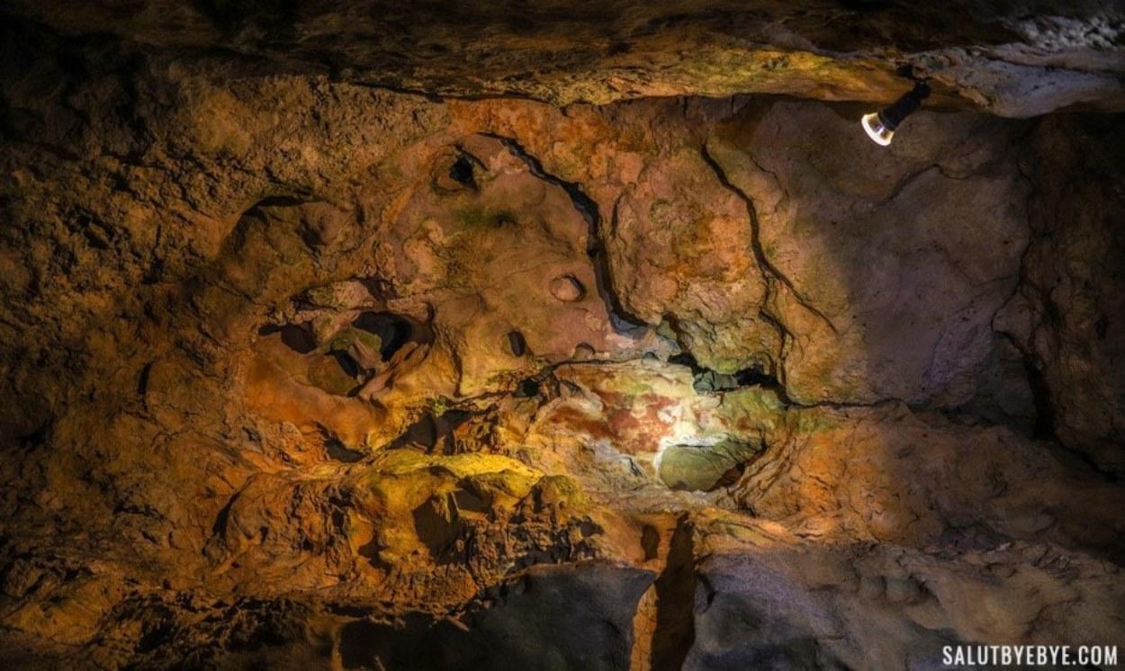 Visite des grottes de Budapest
