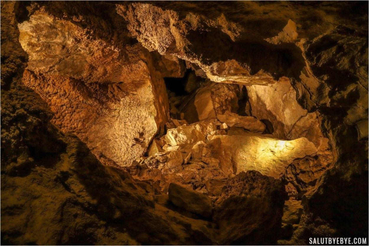 Grottes de Budapest - Szemlö-hegyi