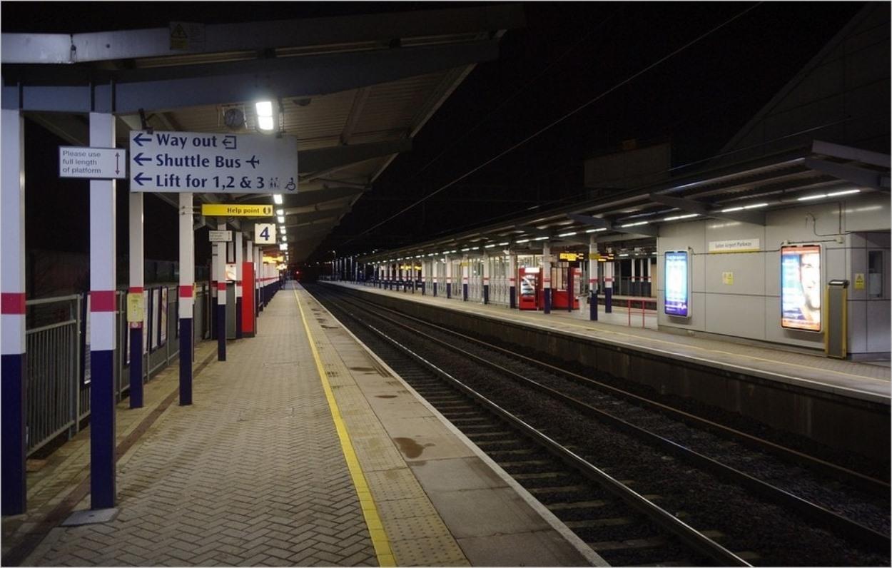 La gare de Luton Airport Parkway