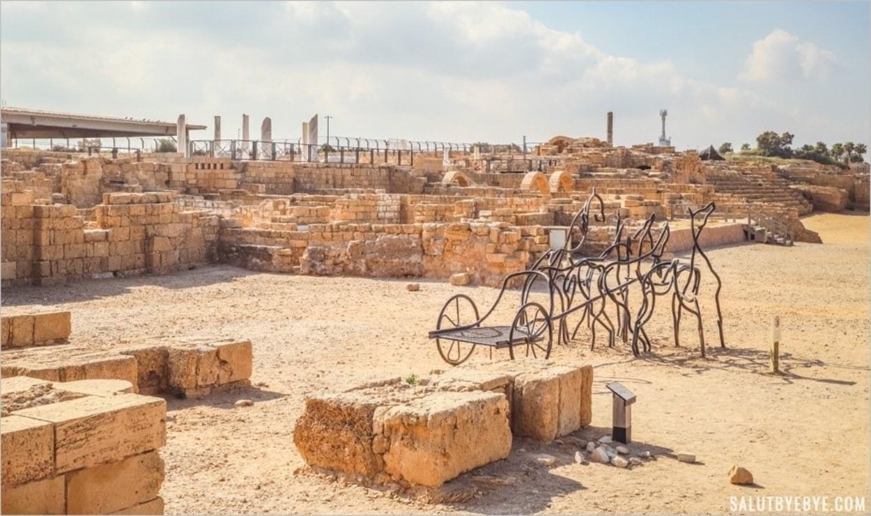 Le parc archéologique de Césarée