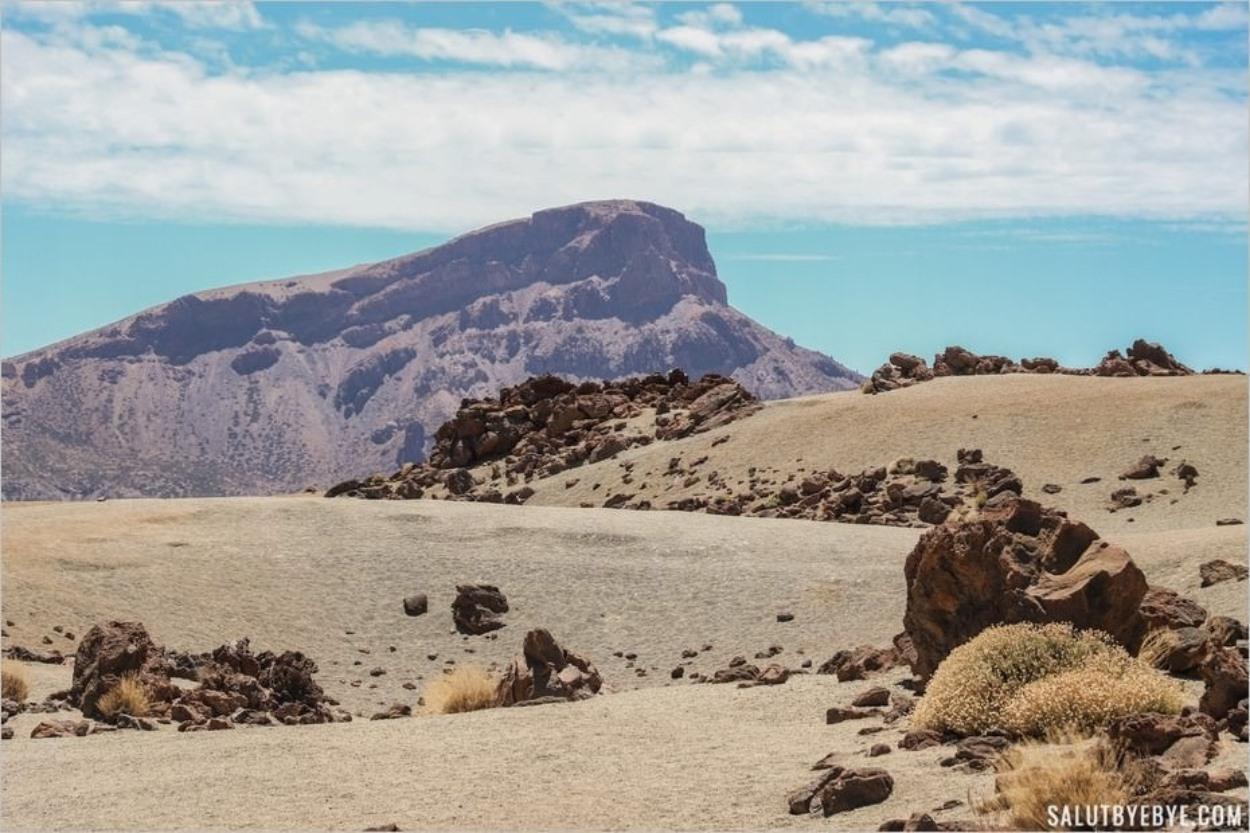 Paysages de dune dans le Teide
