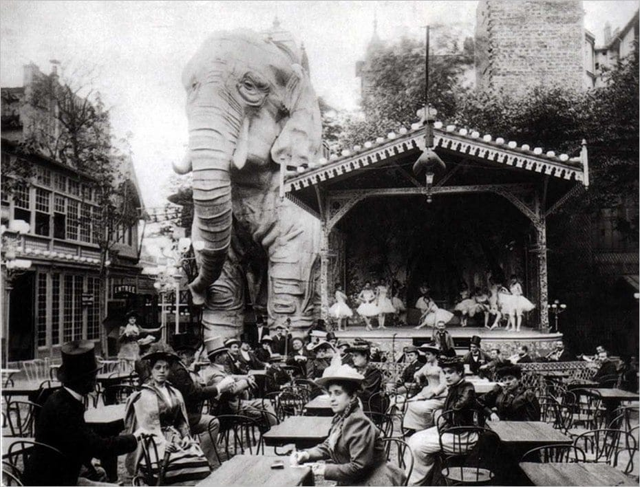L'éléphant du Moulin Rouge
