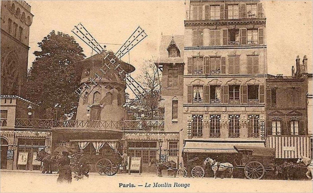 La naissance du Moulin Rouge