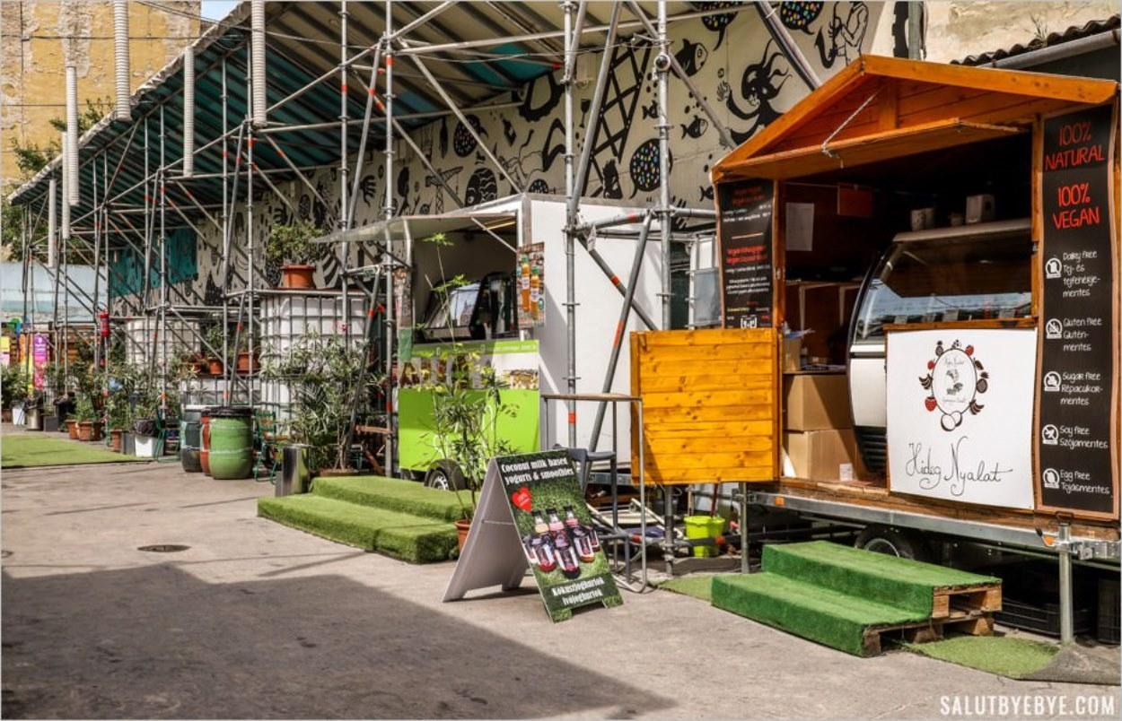 Rácskert, un espace de street food saine