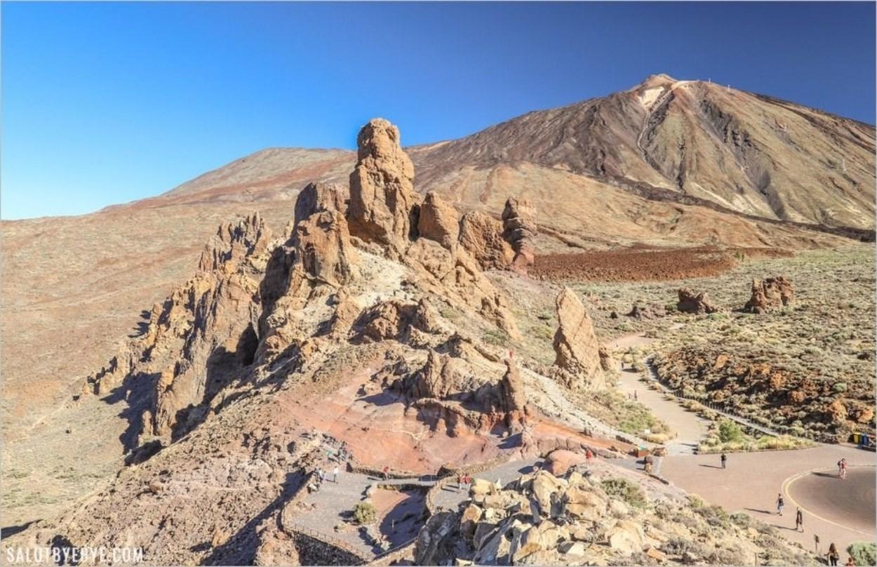 Les Roques de Garcia à Tenerife