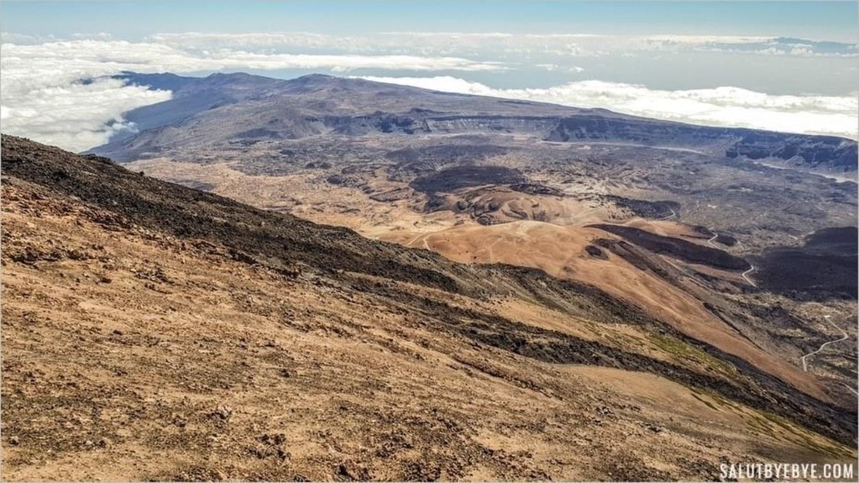 Vue depuis La Rambleta sur le Teide