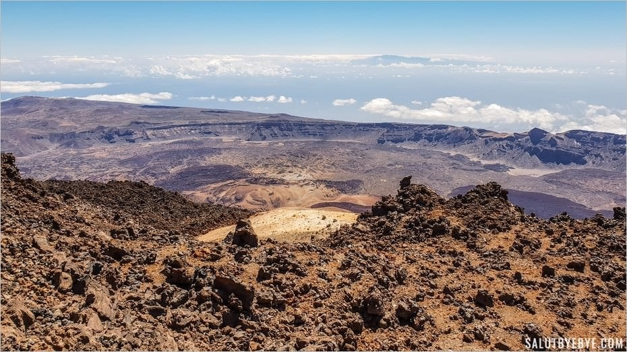 Tenerife : vers le sommet du volcan au Parc National du Teide