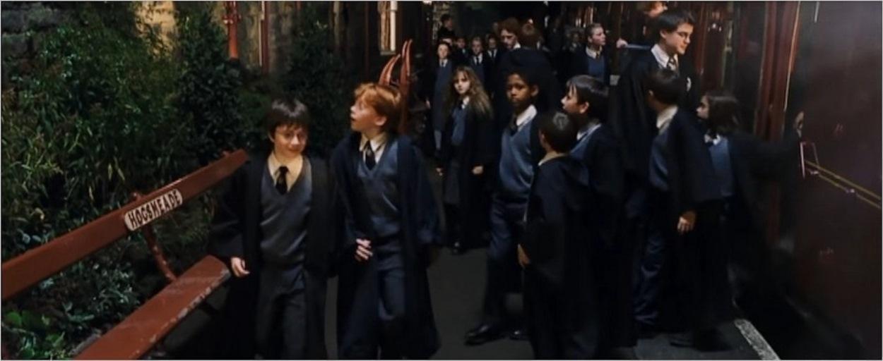 Les bancs Hogsmeade dans Harry Potter