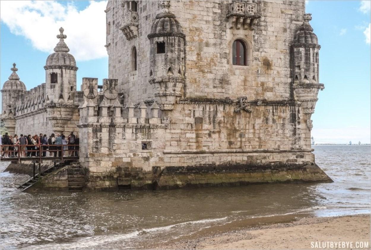 Le bastion de la Tour de Belem