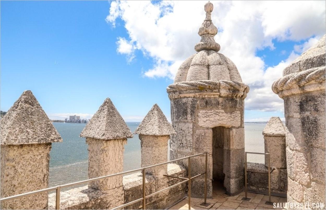 La Tour de Belem, une vue sur le Tage
