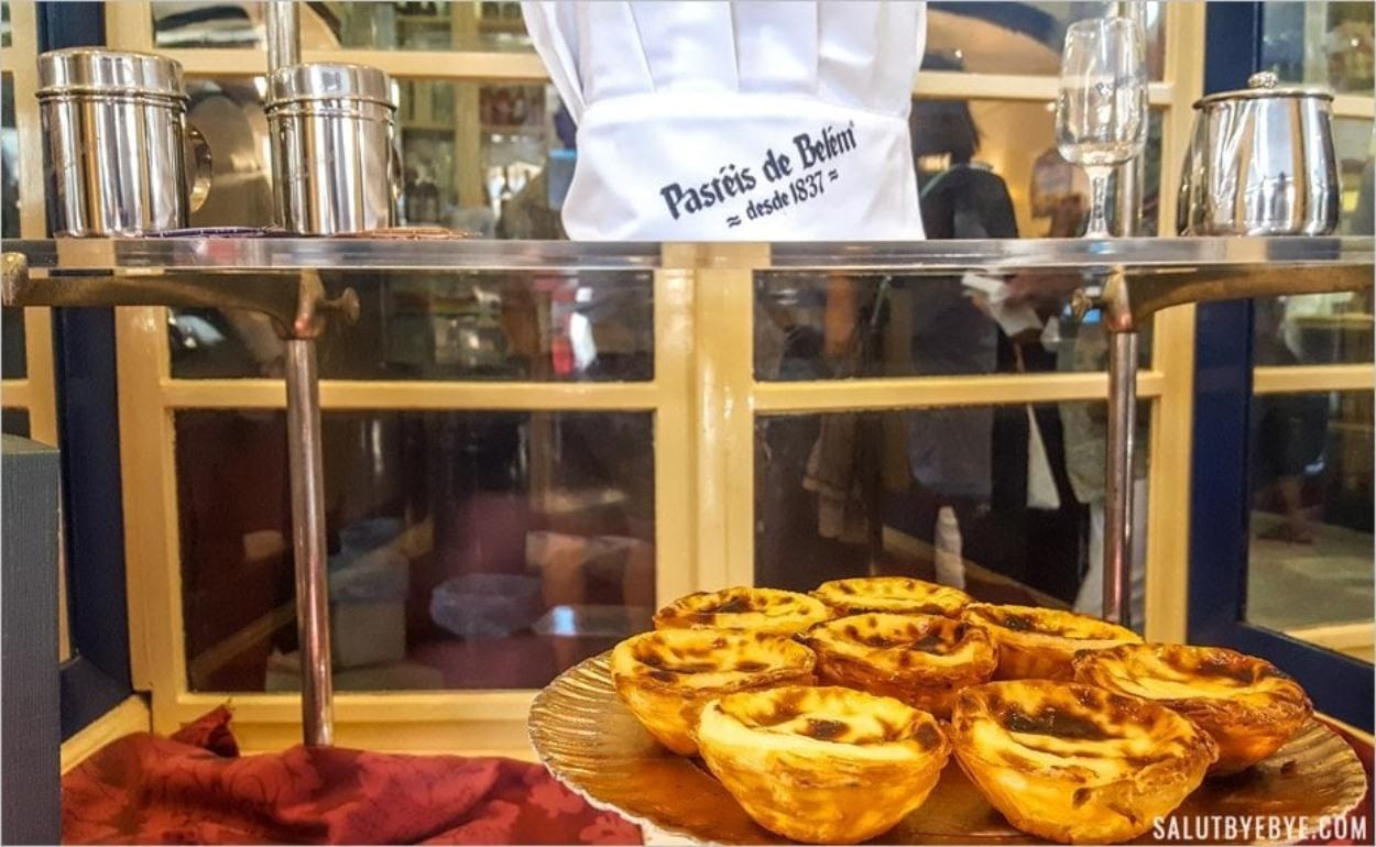 Les pastéis de nata chez Pastéis de Belem