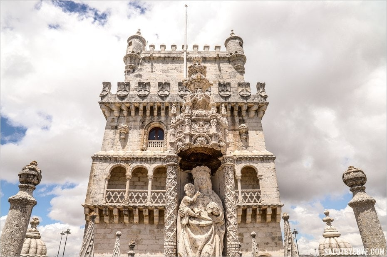 Partie supérieure de la Tour de Belem