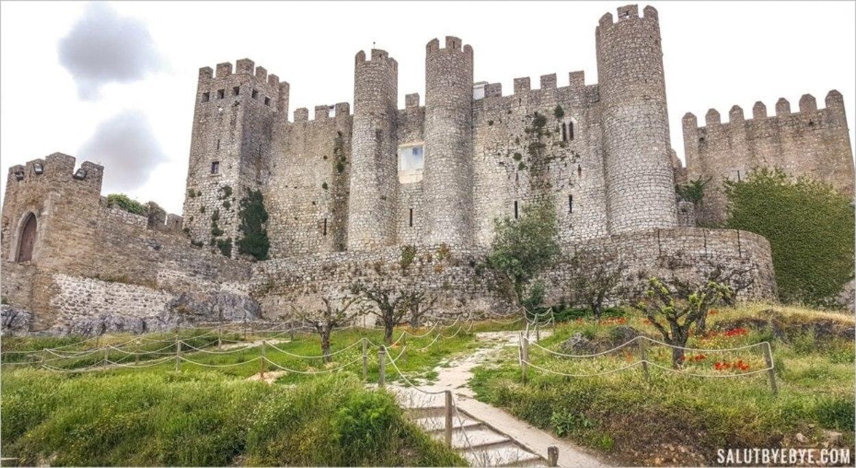 Le château d'Obidos au Portugal