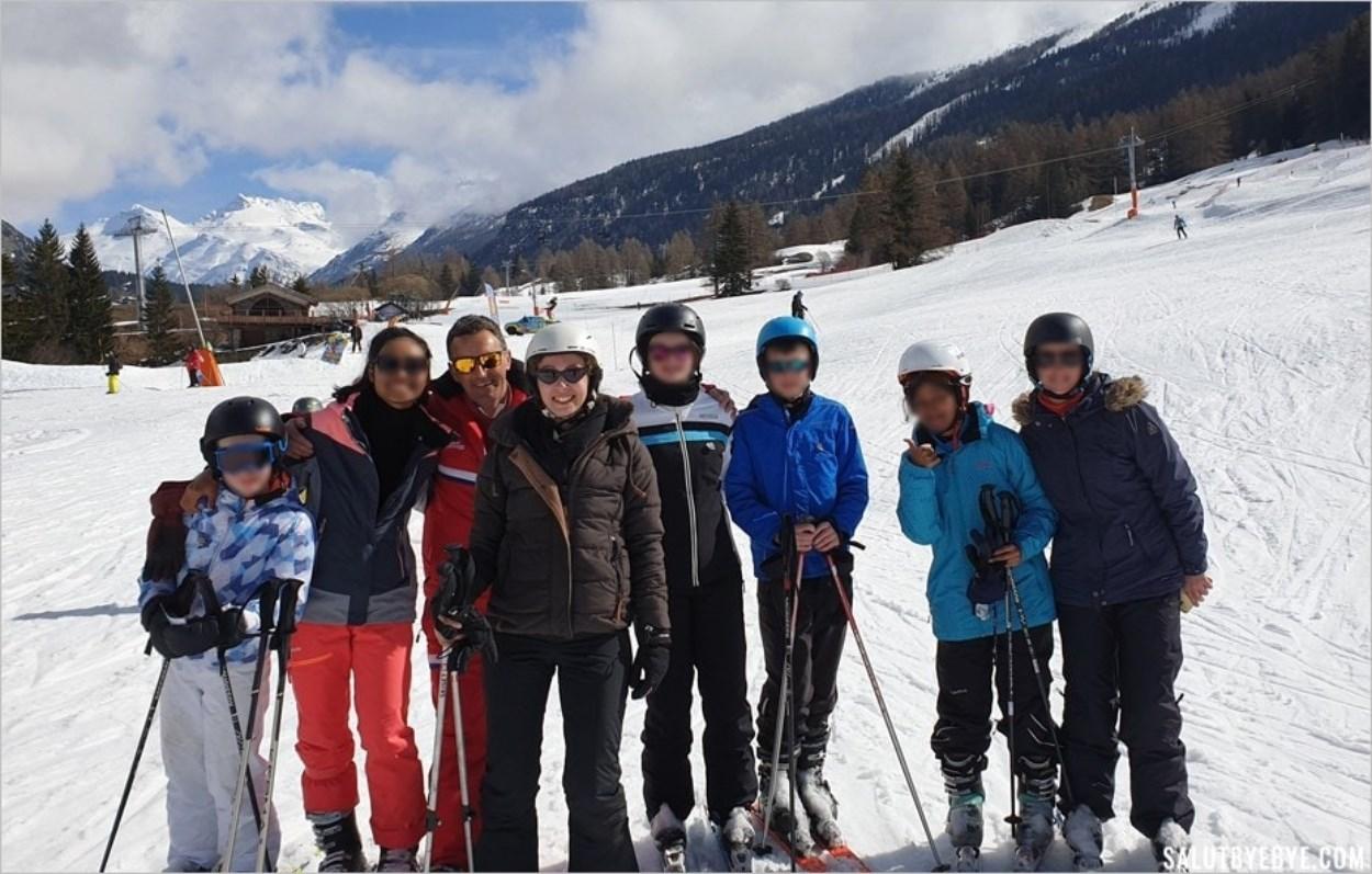Se remettre au ski à l'âge adulte - Notre groupe