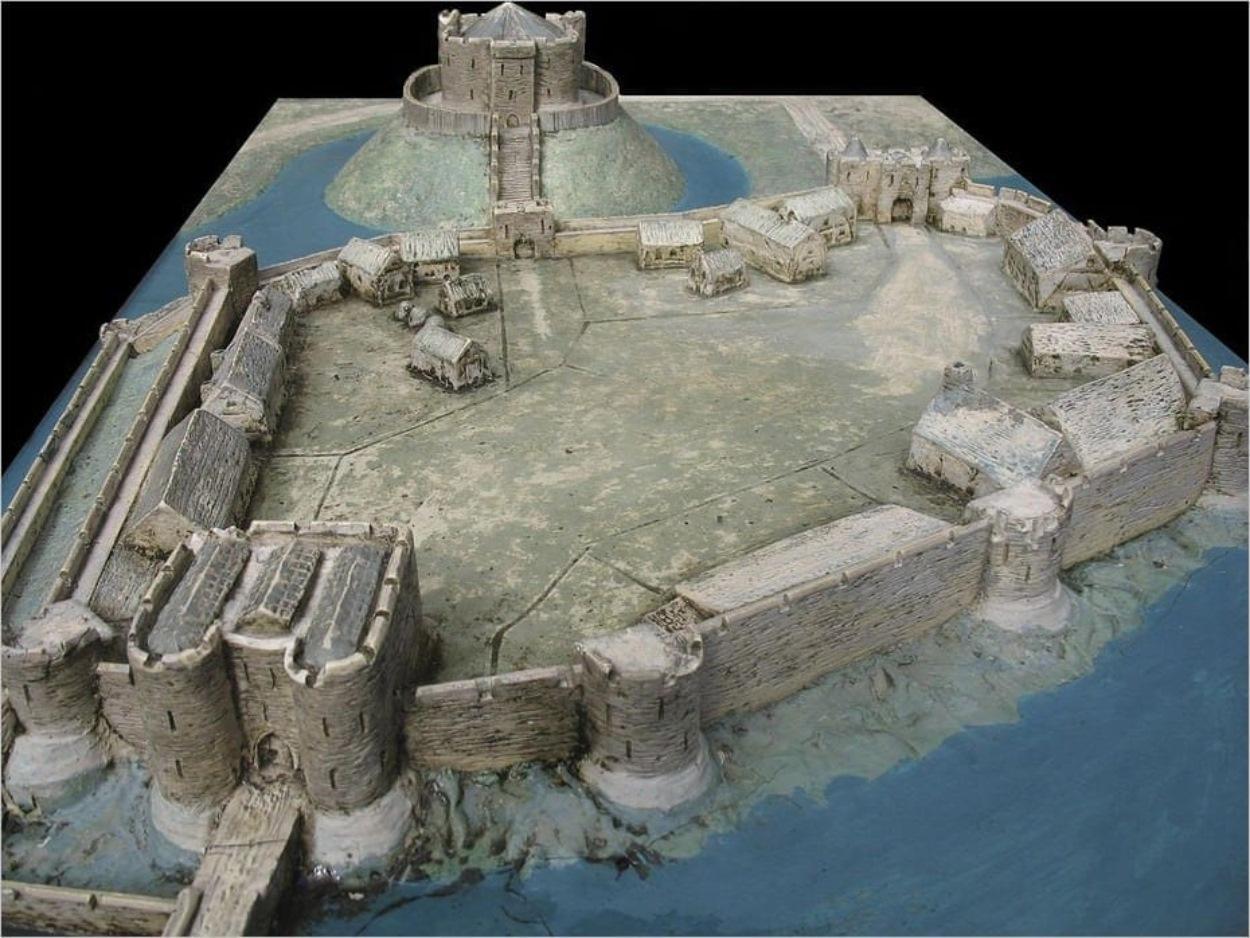 Diorama du château de York