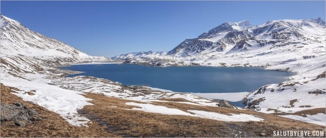 Le lac du Mont Cenis à Val Cenis