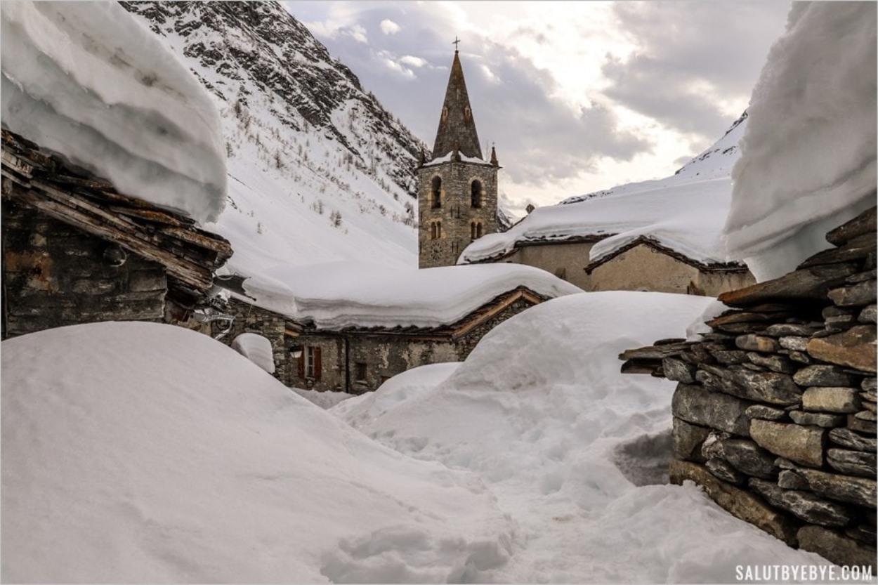 La beauté de la montagne en hiver - Bonneval-sur-Arc