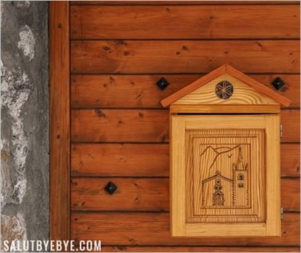 Boîte aux lettres à Bonneval-sur-Arc