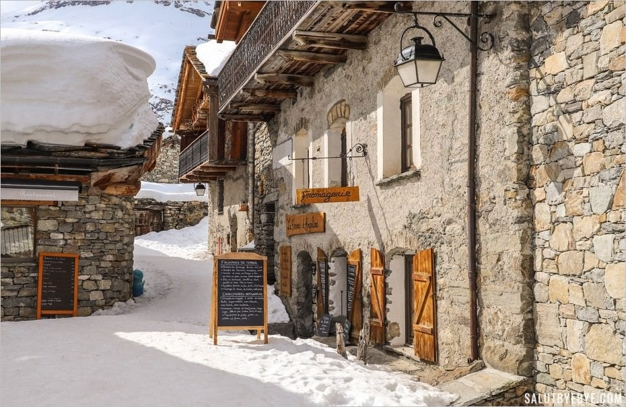 Vieux village de Bonneval-sur-Arc en Savoie