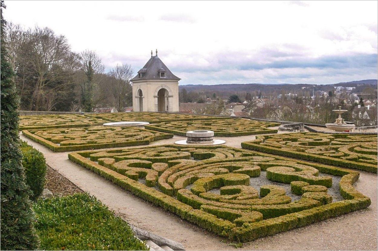 Les jardins du château d'Auvers