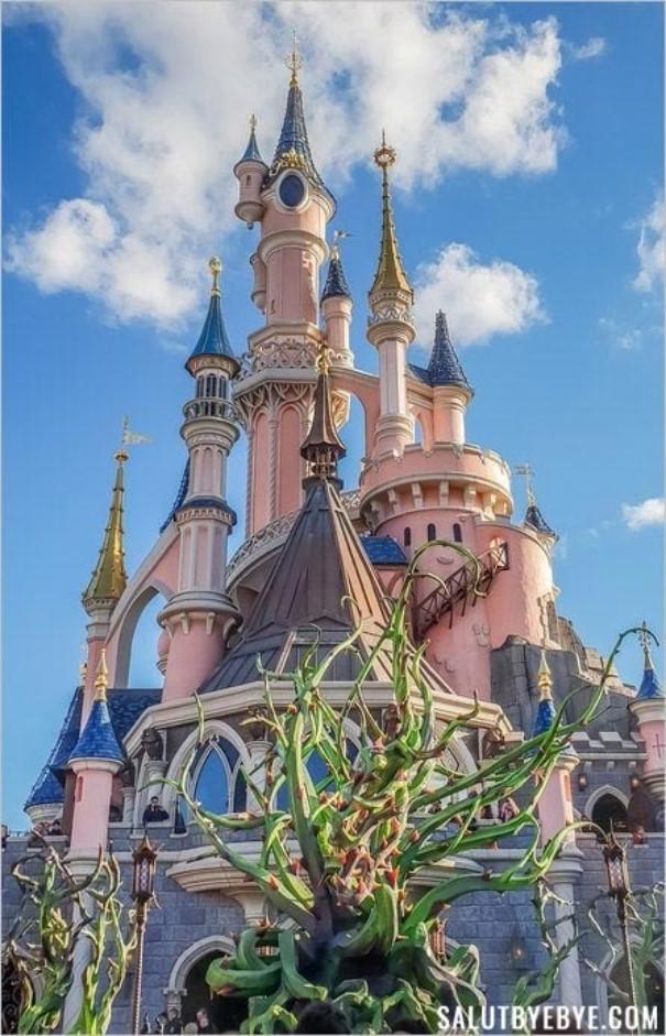 Disneyland Paris - Le château