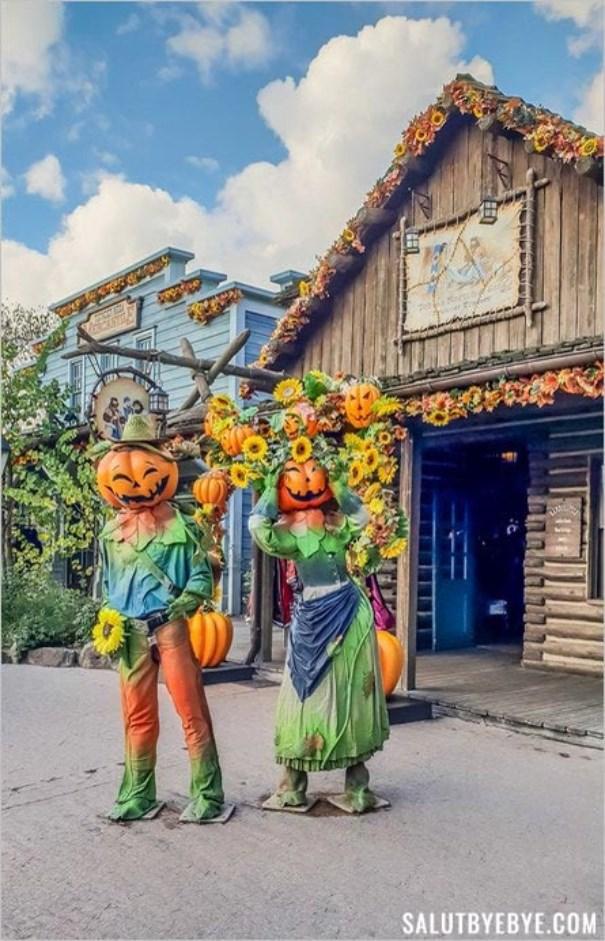 Disneyland Paris à la période d'Halloween