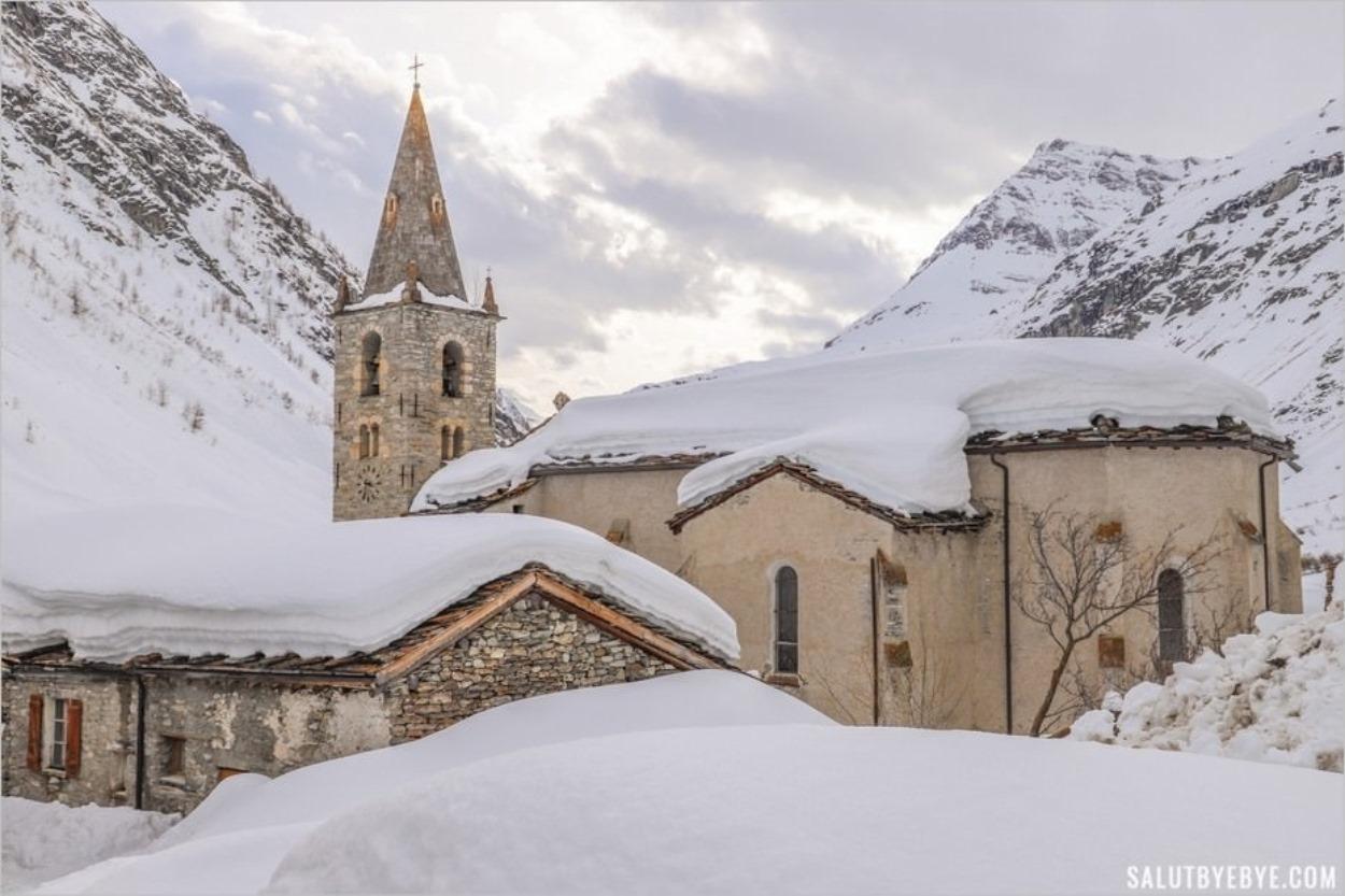Église Notre-Dame-de-l'Assomption de Bonneval-sur-Arc