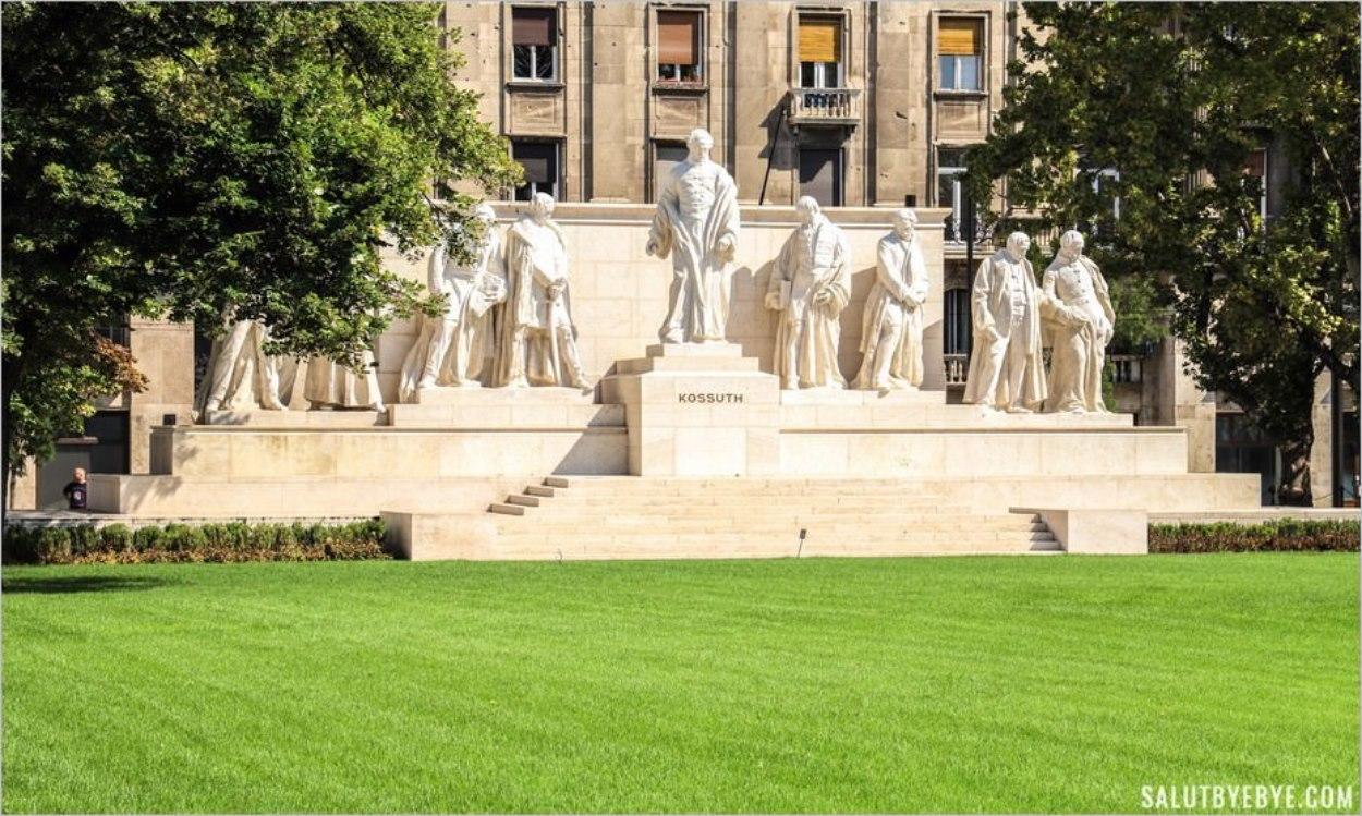 Mémorial en hommage à Lajos Kossuth