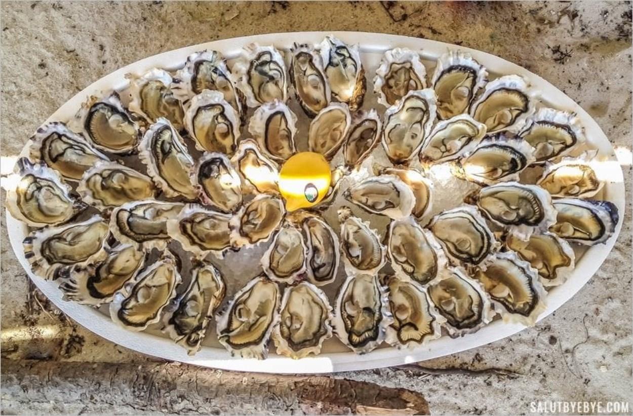 Un plateau d'huîtres du Bassin d'Arcachon