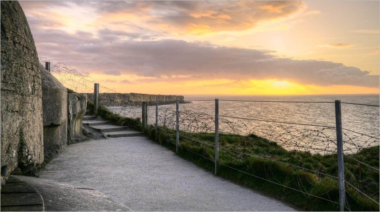 La Pointe du Hoc en Normandie