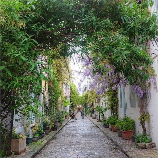 Rue des Thermopyles à Paris