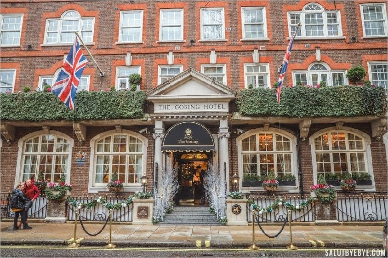 Où dormir à Londres ? La façade du Goring Hotel